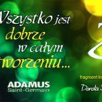Wszystko jest dobrze w całym stworzeniu (fragment książki) – Adamus Saint Germain